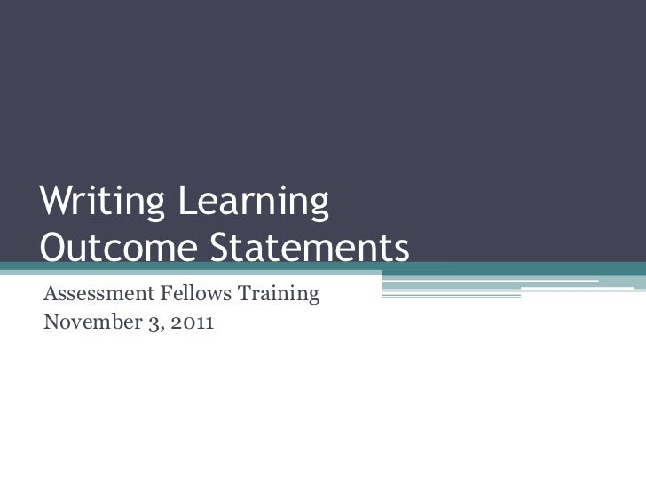 learning to write thesis statements