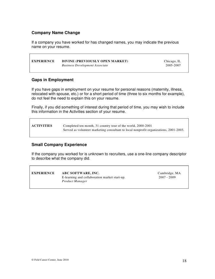 Naming your resume to stand out