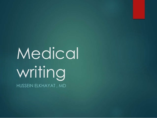 Medical Thesis Writing