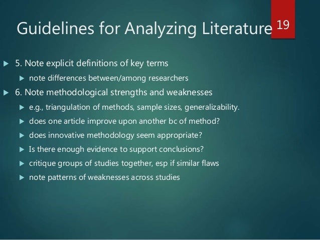 the different ways to analyze literature How to critique literature keep in mind that there are many different ways to form a thesis analyze tone in literature how to.