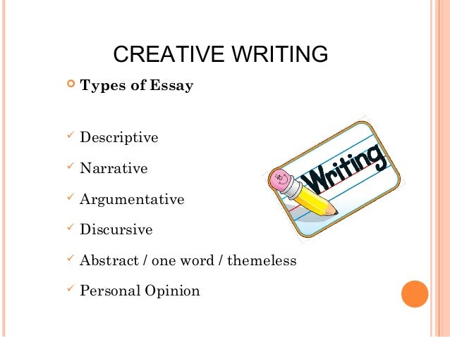 Creative writing final exam ideas