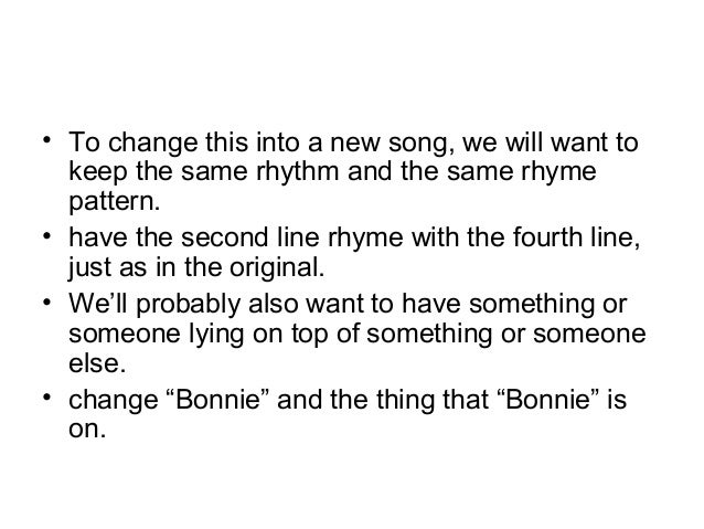 How to write a funny song parody