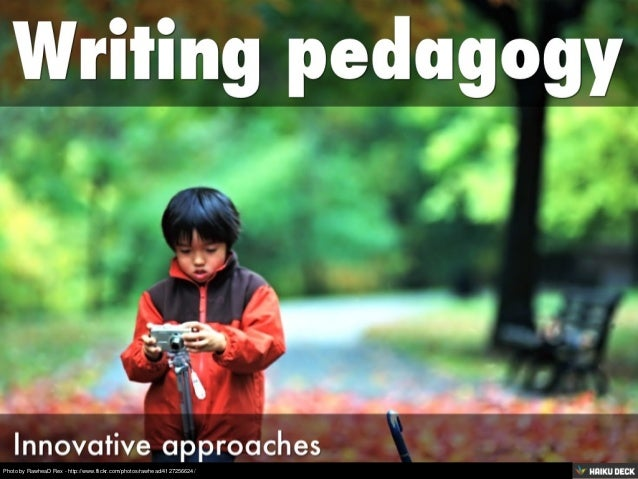 Writing pedagogy
