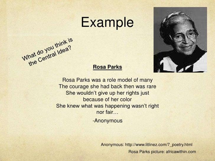 5 paragraph essay about rosa parks