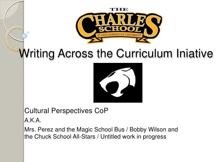 Writing Presentation - Bob Wilson - Dec 2010