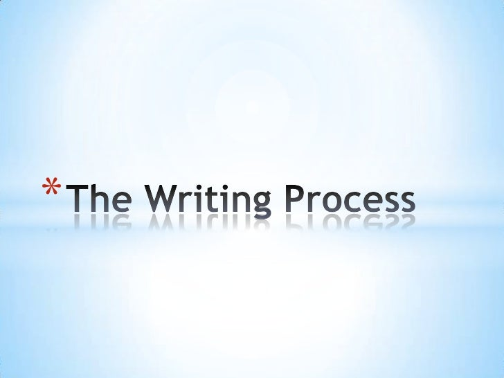 The Writing Process / Anderson