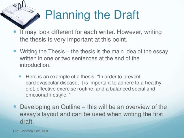 introduction to ma thesis