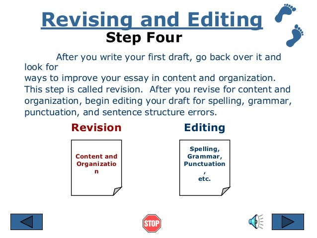 revision tips for essays Writing and revision tips connors writing center dimond library 329 tips to help you revise your writing and conquer your assignments with confidence.