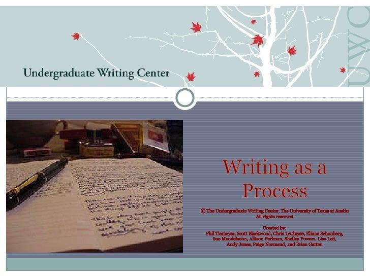 Writing process 10 11