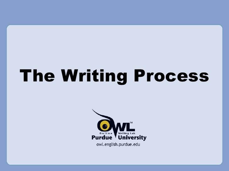 Writing Process—OWL