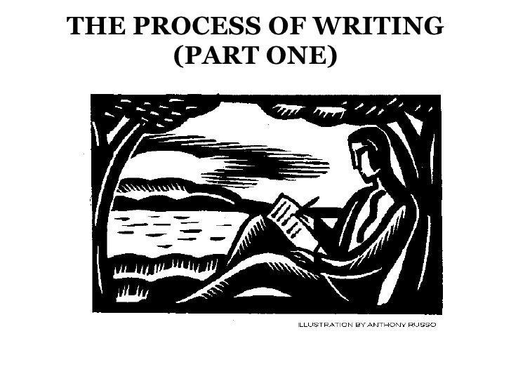 THE PROCESS OF WRITING           (PART ONE)<br />