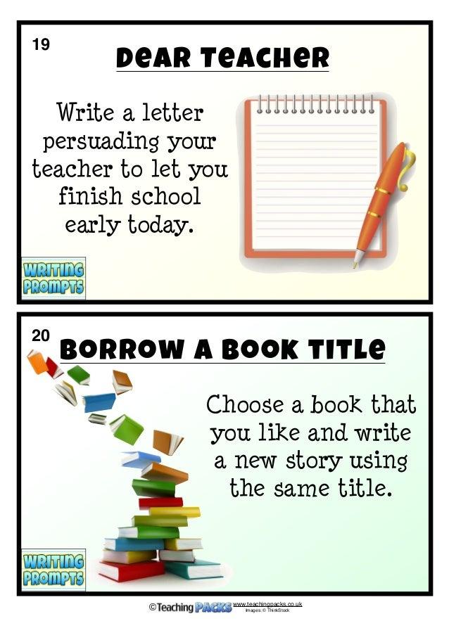writing teacher