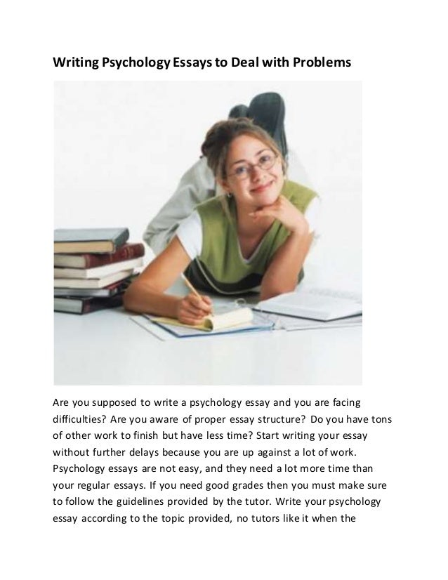 problems with essay writing services