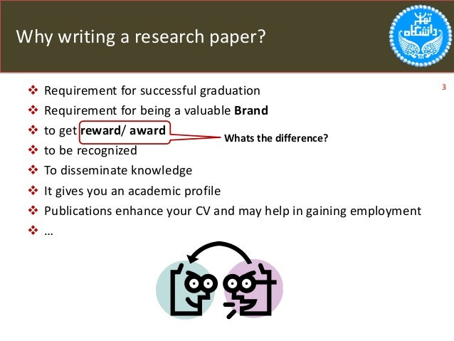 Paper requirement research