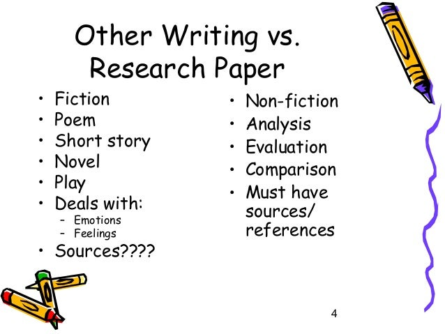 Writing A Research Essay