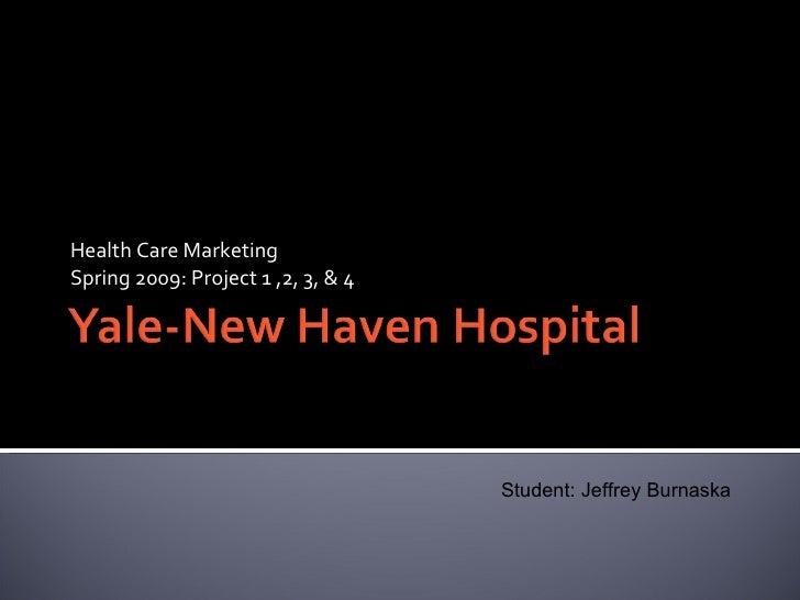 Writing Sample J. Burnaska   Hospital Final Presentation