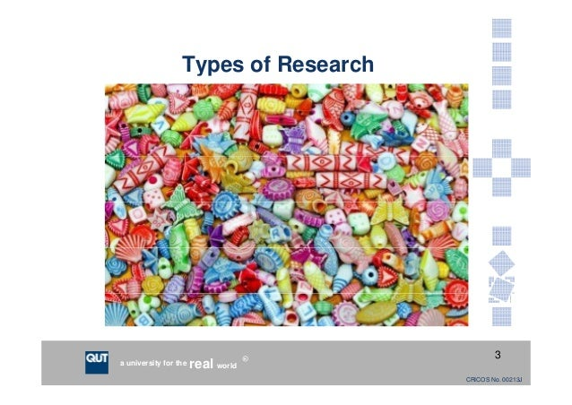 Types of research paper writing