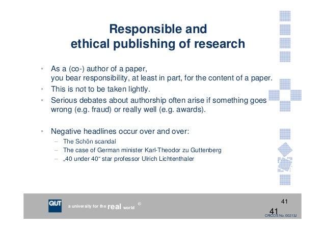 Writing scientific research paper