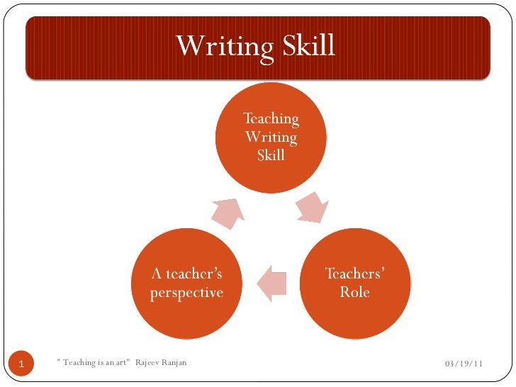 How to Develop Writing Skill