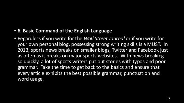 Articles writing in english