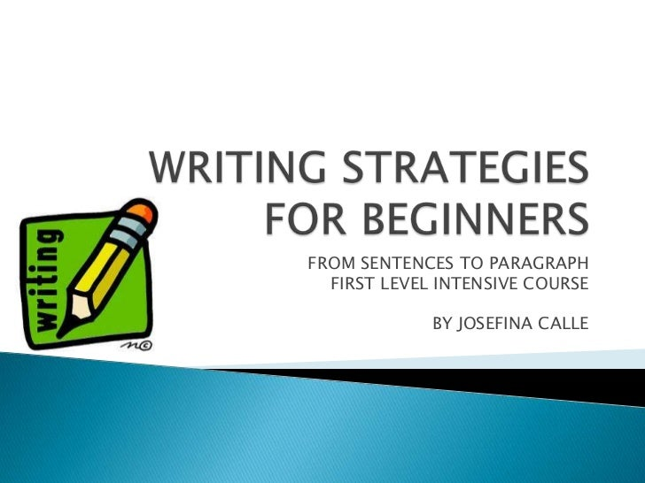 Pay for writing beginners course