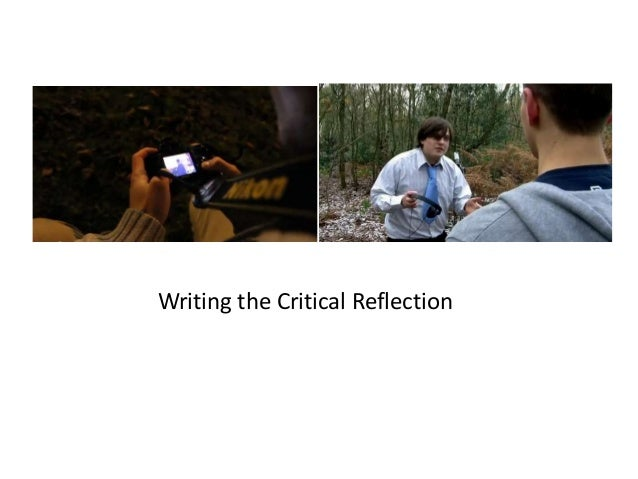 Writing the Critical Reflection