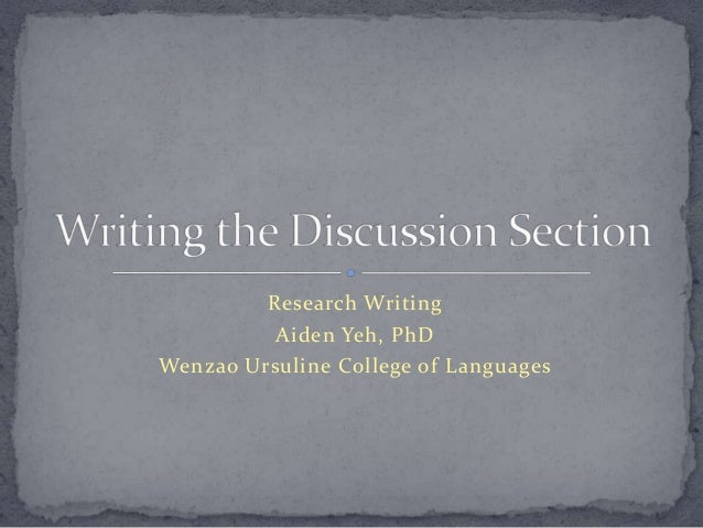 Research WritingAiden Yeh, PhDWenzao Ursuline College of Languages