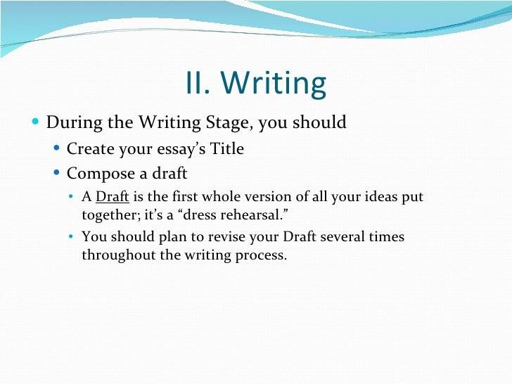 Essay literary term