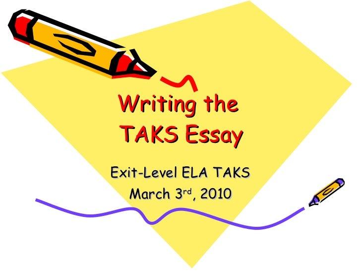 Writing the taks narrative