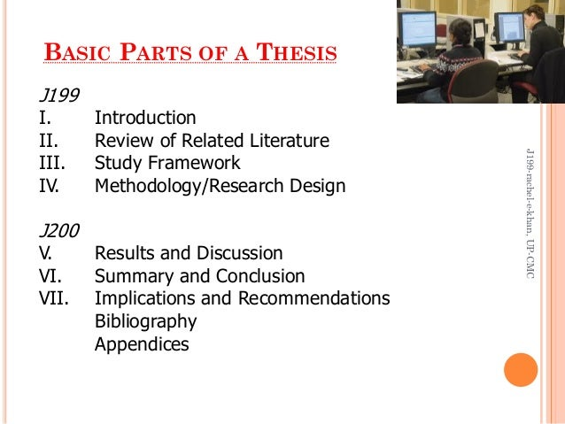 discussion part of thesis