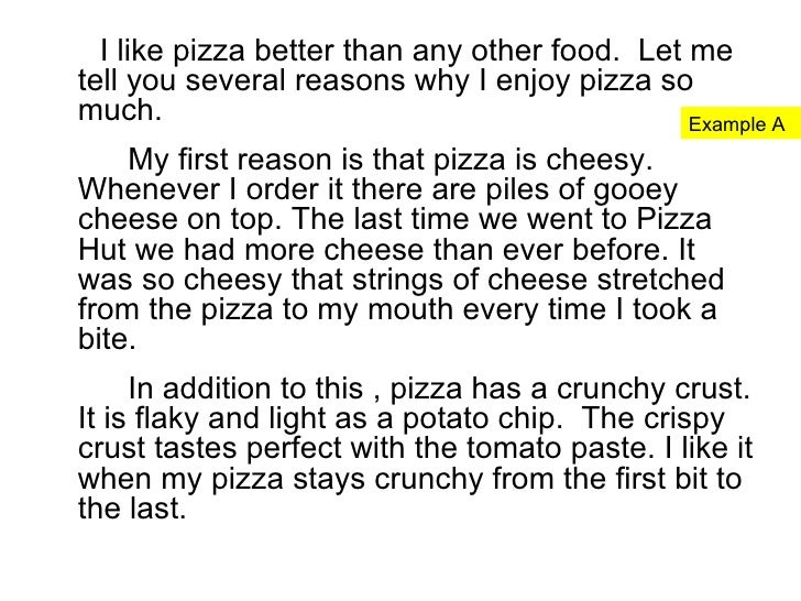 Favourite food essay