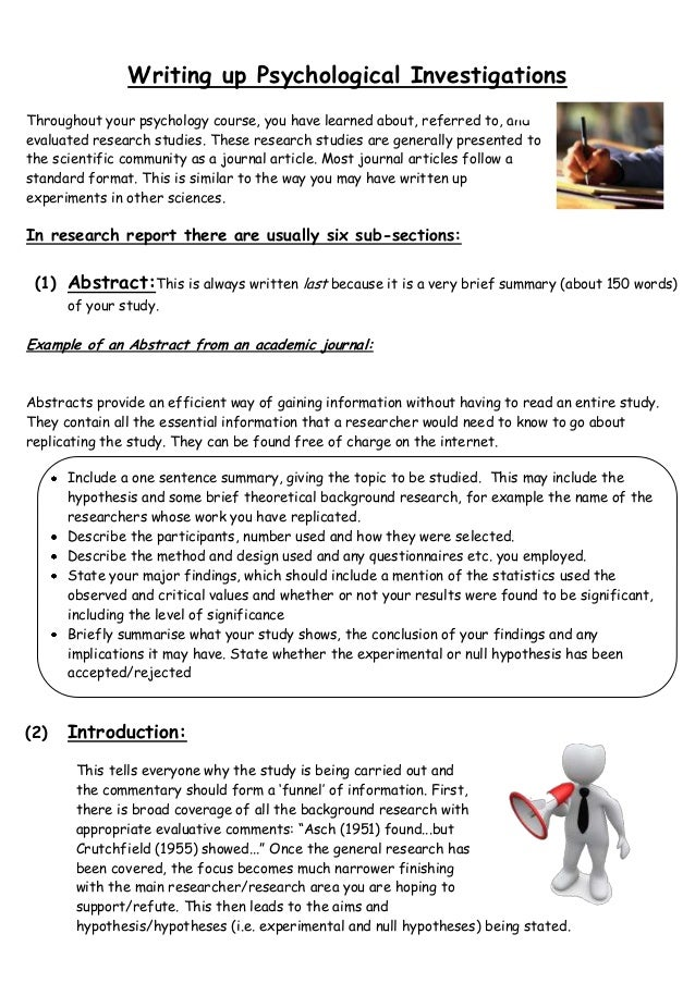 Essay Writing Guide for Psychology Students