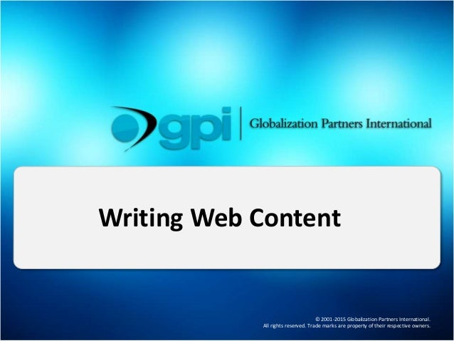 Web Content Writing Content Writing Services