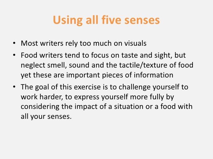 Write 5 Senses