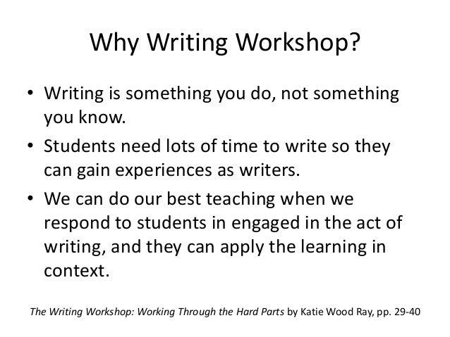 Writing instruction