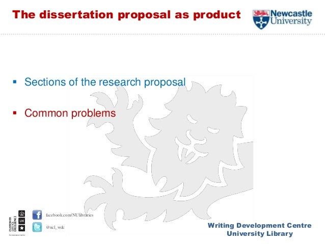 Writing your dissertation proposal