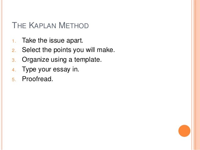 Issue essay gre