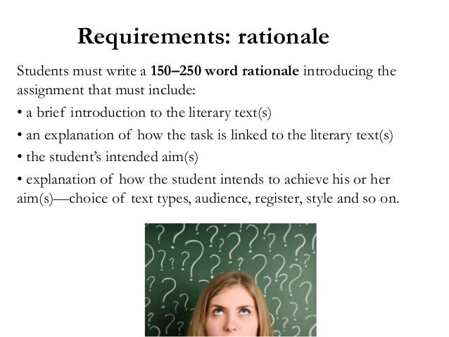 literature written assignment ib Contacts support material used to mark and case studies friday of assignment # 2 required.