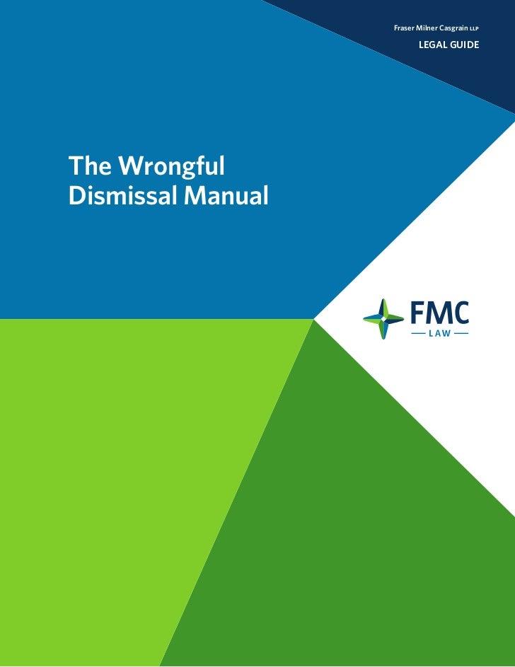 Wrongful Dismissal Manual