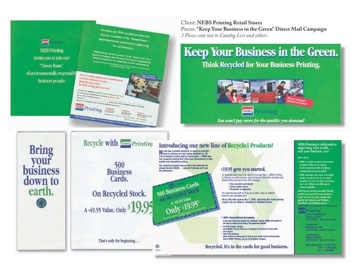Wrs Nebs Printing Green Promo