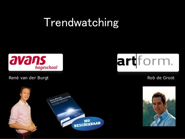 Grenzeloos innoveren, Trends (Workshop)
