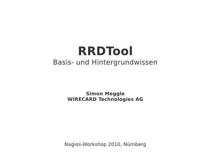 RRDTool Basis- u. Hintergrundwissen