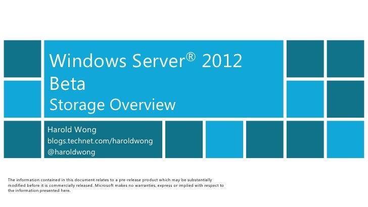 Windows                                    Server®                            2012                    Beta                ...