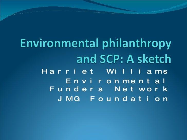 WS6a_FundingEnvironmentalPhilanthropy_Williams