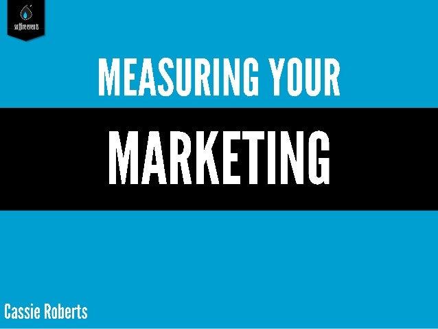 WSFA-Measuring Your Marketing
