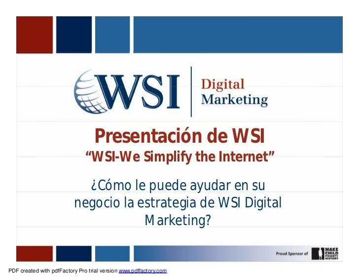 Wsi Digital Marketing