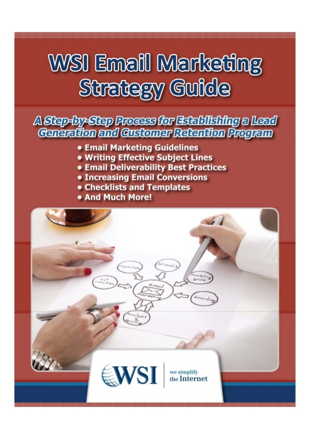 Wsi email marketing guide