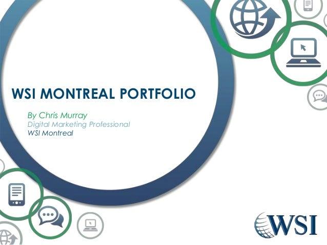 Wsi montreal portfolio