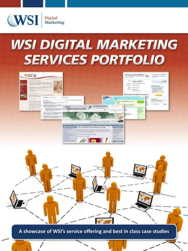 WSI Onlinebiz Digital Matrketing services portfolio