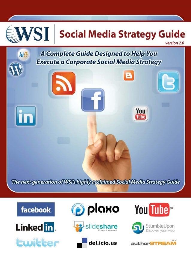 Wsi social media strategy guide